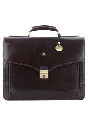 DA VINCI - Briefcase - braun