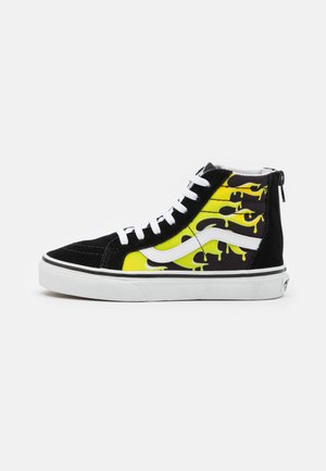 SK8 ZIP - Baskets montantes - black/true white