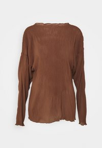 ARKET - Camiseta de manga larga - choclate brown - 4