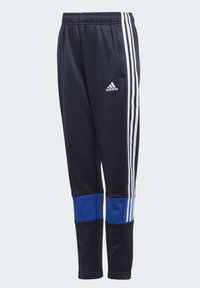 adidas Performance - MUST HAVES 3-STRIPES AEROREADY JOGGERS - Pantalones deportivos - blue - 0