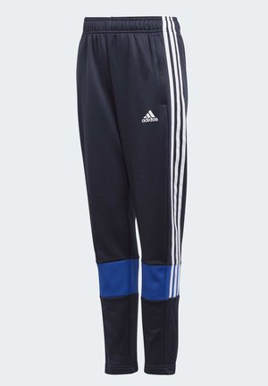 MUST HAVES 3-STRIPES AEROREADY JOGGERS - Spodnie treningowe - blue