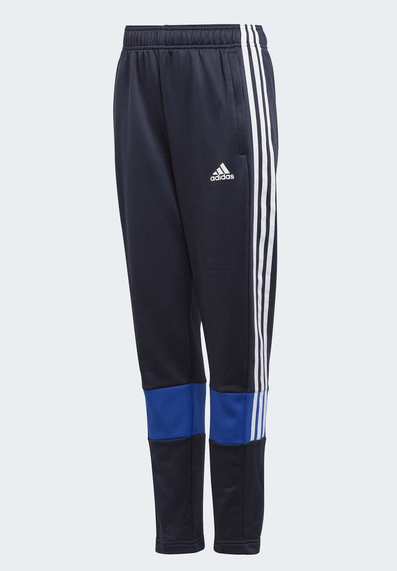 adidas Performance - MUST HAVES 3-STRIPES AEROREADY JOGGERS - Pantalones deportivos - blue