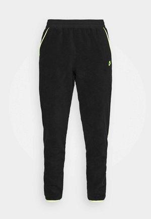 PANT WINTER - Teplákové kalhoty - black/volt