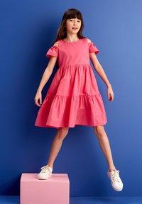 MINOTI - Day dress - pink - 0