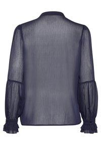 PULZ - PXSTARBLUE SHIRT - Button-down blouse - dark sapphire - 6