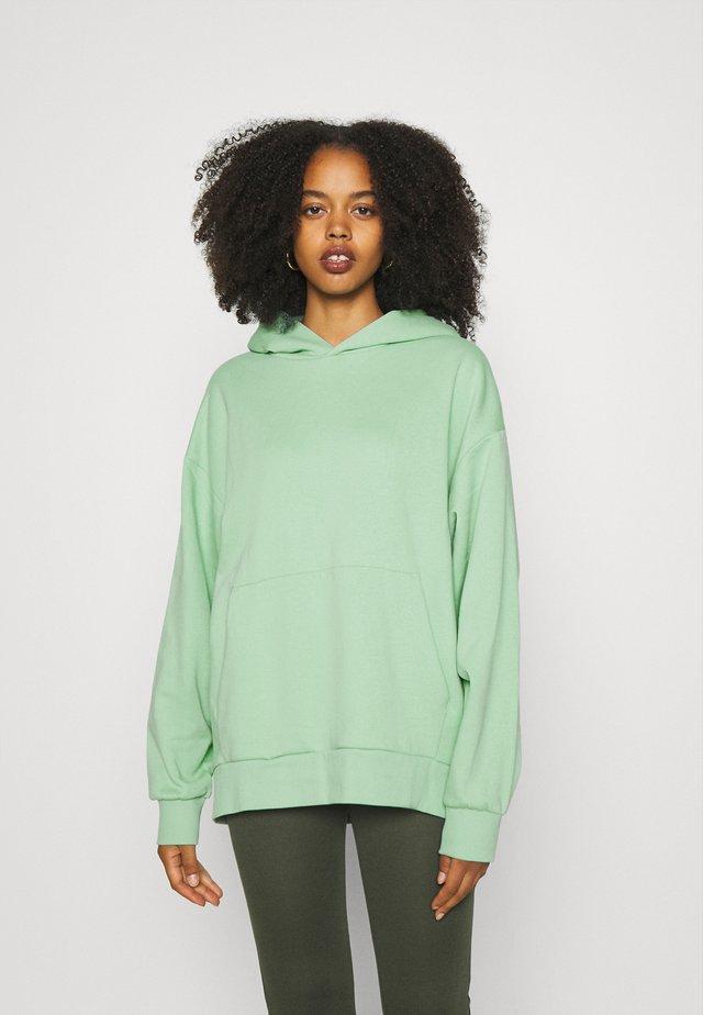 LINDA HOODIE - Hoodie - light green