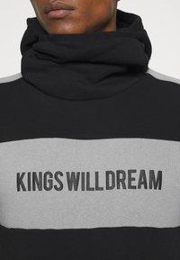 Kings Will Dream - CHAPMAN HOODIE - Sweatshirt - black/grey - 5