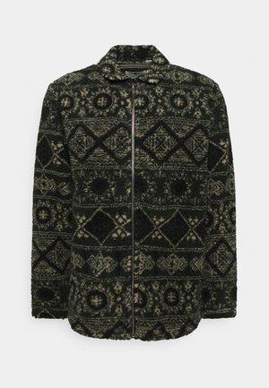 AKSØREN PILE - Fleece jacket - dark green