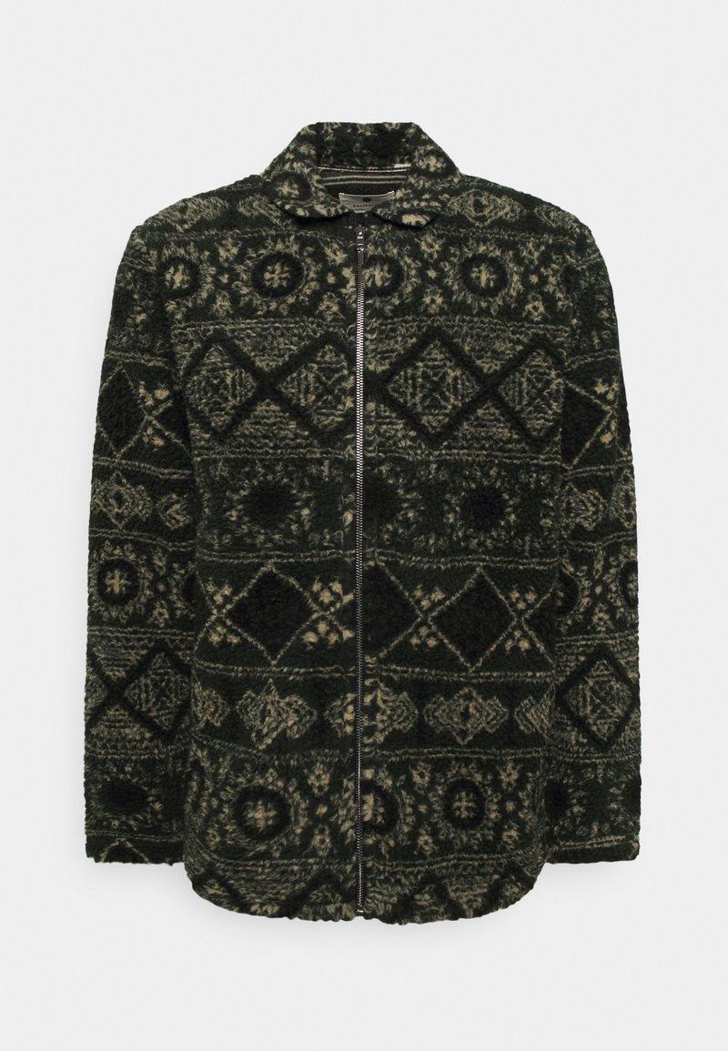 Anerkjendt - AKSØREN PILE - Fleece jacket - dark green