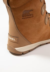 Sorel - YOUTH WHITNEY - Lace-up ankle boots - elk/natural - 2