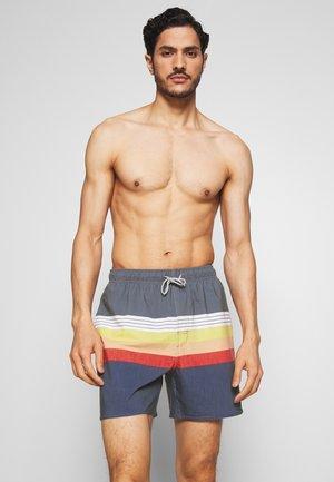 LAYERED VOLLEY - Swimming shorts - navy