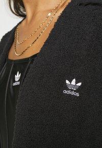 adidas Originals - KIMONO - Cardigan - black - 5