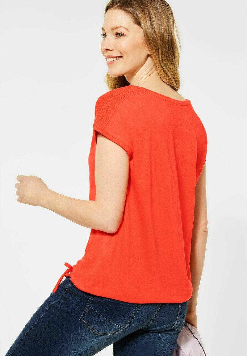 Cecil - MIT SMOK - Basic T-shirt - orange