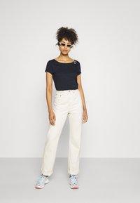 Ragwear - FLORAH - Print T-shirt - navy - 1