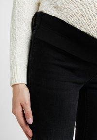 Esprit Maternity - Jeans slim fit - black darkwash - 6