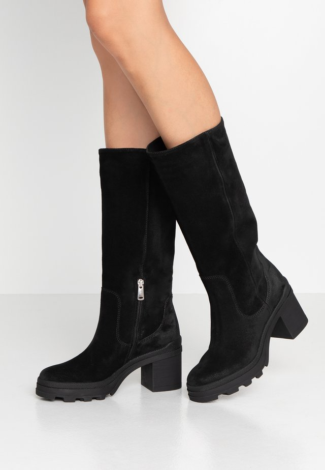 Platform boots - diana nero