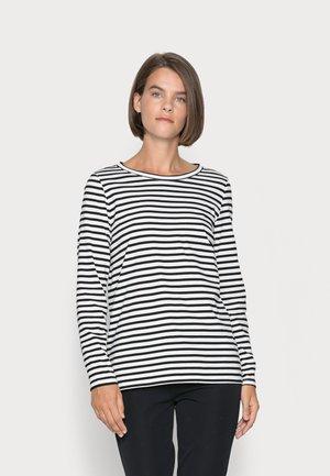 Long sleeved top - black stripe
