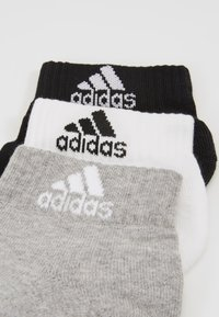 adidas Performance - CUSH ANK 3 PACK - Calcetines de deporte - medium grey/white/black - 2