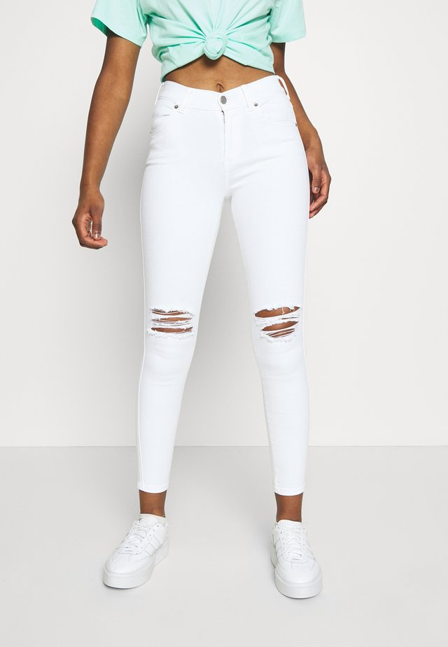 LEXY - Jeans Skinny Fit - white