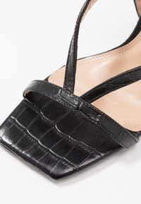 Dune London - MONTEREY  - Sandály na vysokém podpatku - black - 2
