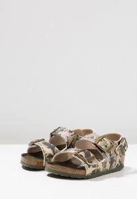 Birkenstock - MILANO - Sandals - khaki - 3