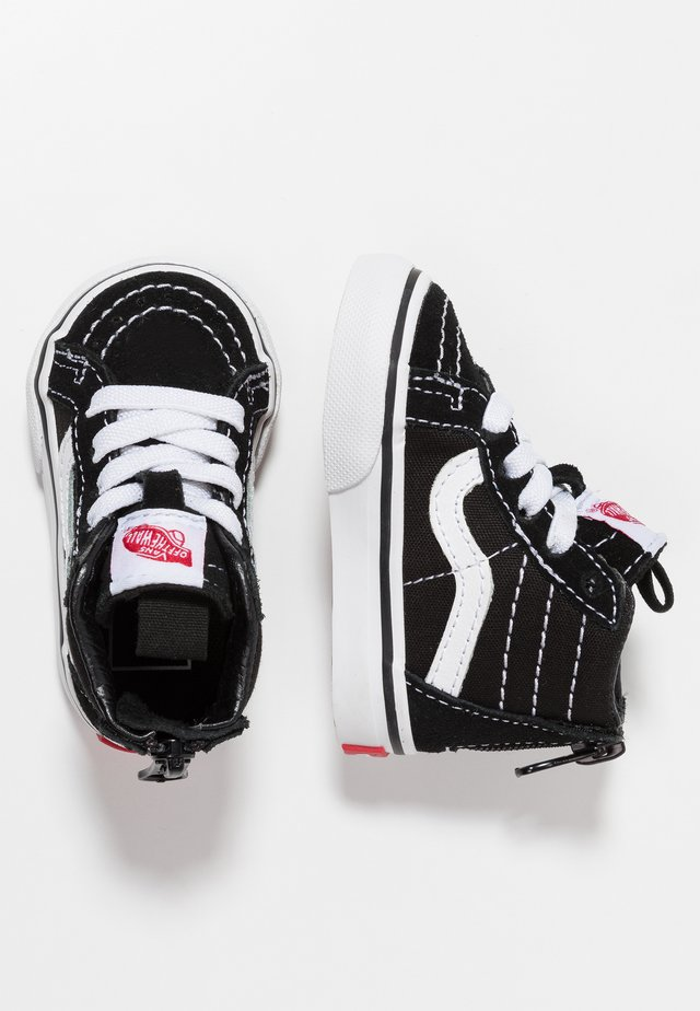TD SK8 ZIP - Chaussures premiers pas - black/white