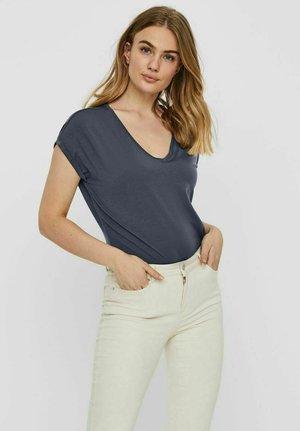 Basic T-shirt - ombre blue