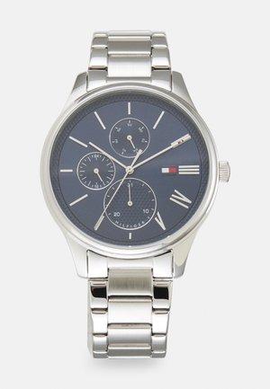 DAMON - Chronograph watch - silver-coloured/blue