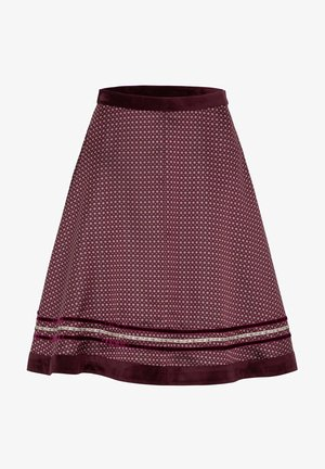 A-line skirt - beere