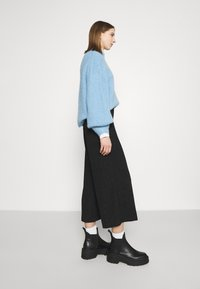 Monki - CILLA PARTY TROUSERS - Bukse - black - 3