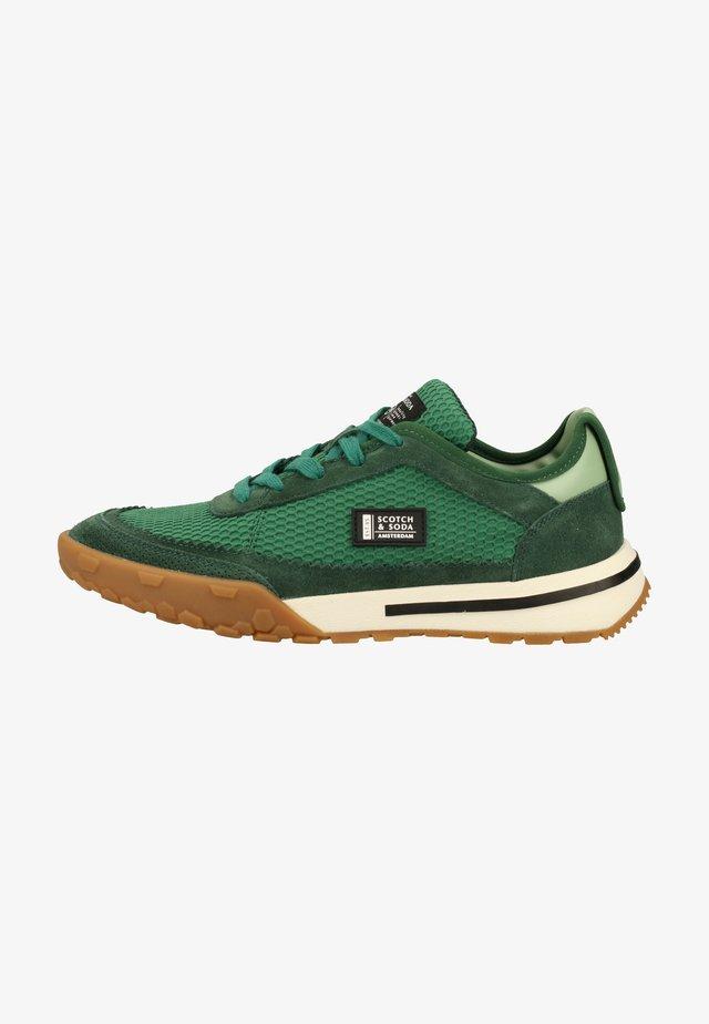 Sneakers laag - green cream multi s