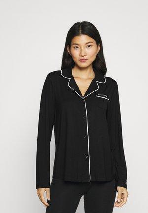 ULTRA SOFT SLEEP - Pyjama top - black