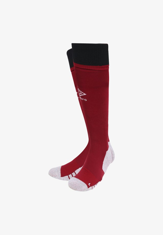 Knee high socks - rot