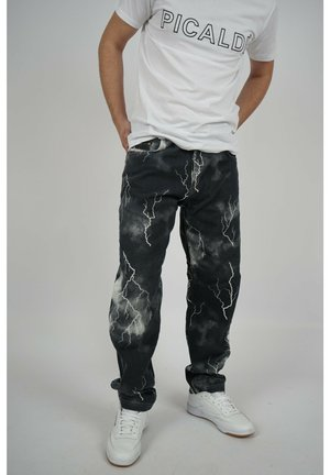 KAROTTEN - Relaxed fit jeans - black