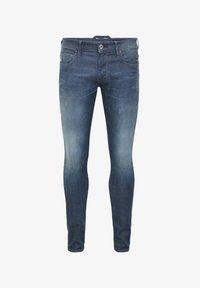 G-Star - LANCET SKINNY  - Jeans Skinny Fit - worn in gravel blue - 0