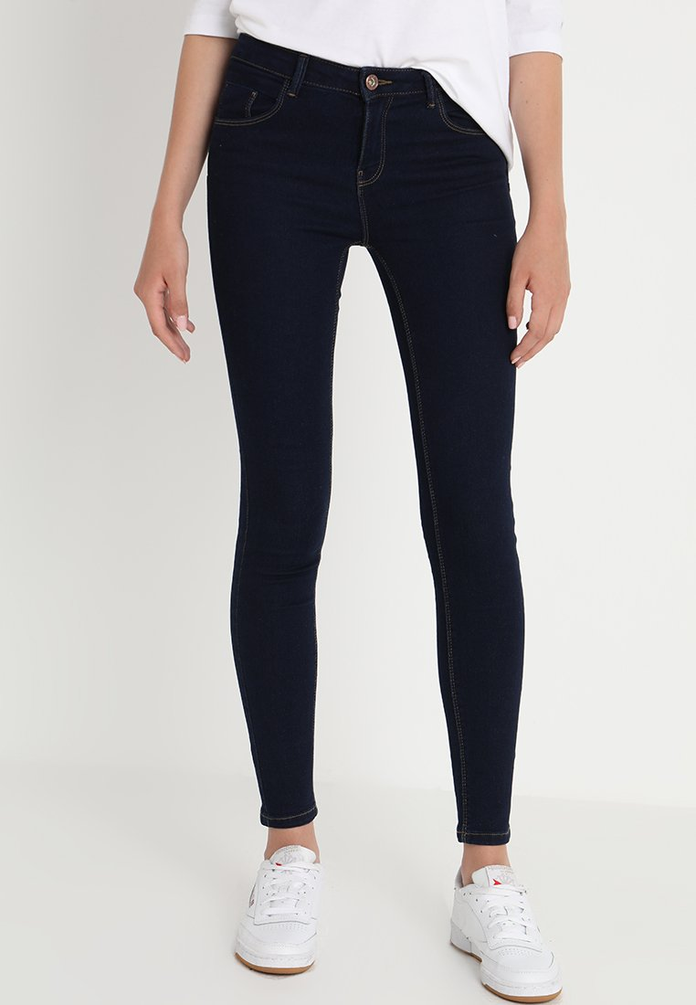 ONLY - ONLDAISY PUSHUP - Jeans Skinny Fit - dark blue denim