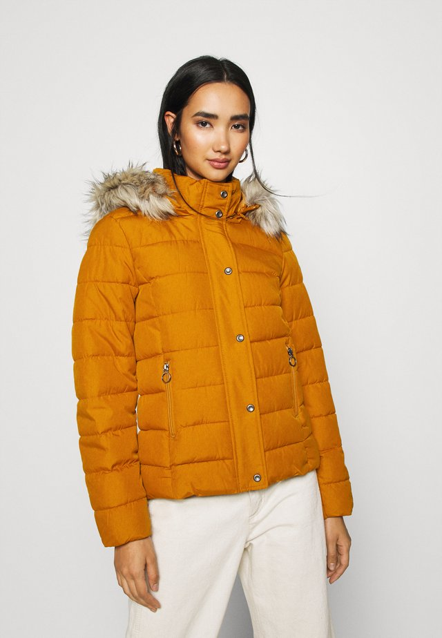 Winter jacket - pumpkin spice