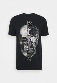 Religion - SPLIT TEE - T-shirt print - black - 0