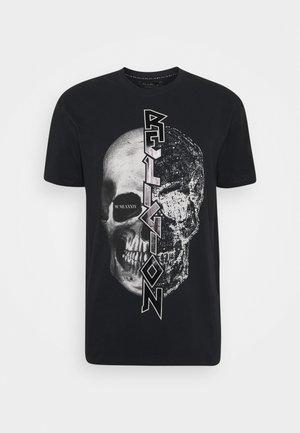 SPLIT TEE - T-shirt print - black