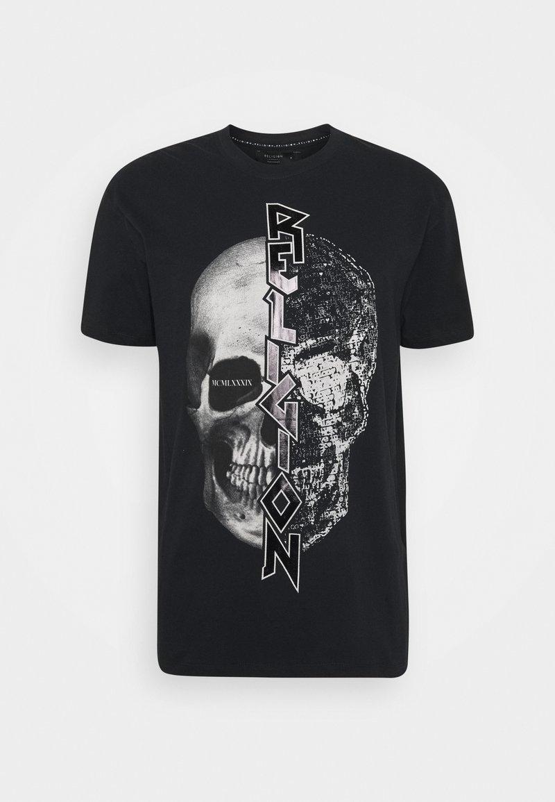 Religion - SPLIT TEE - T-shirt print - black