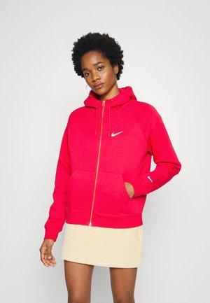 HOODIE - Zip-up sweatshirt - very berry