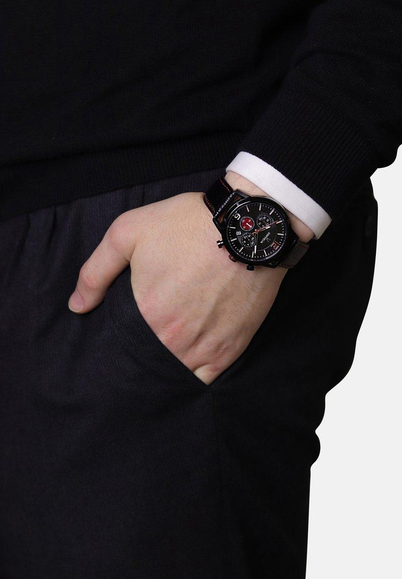 Orphelia - TEMPO - Chronograph watch - black