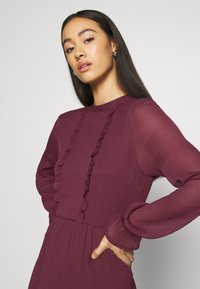 Vero Moda - VMMOLLIE FRILL SHORT DRESS - Day dress - fig - 4