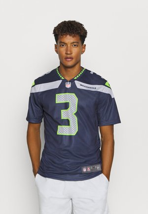 NFL SEATTLE SEAHAWKS RUSSELL WILSON LEGEND TEAM COLOUR - Artykuły klubowe - college navy