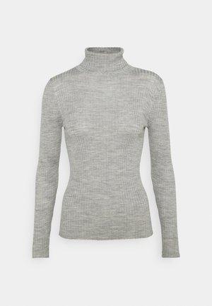 SLFCOSTINA ROLLNECK - Jumper - light grey melange