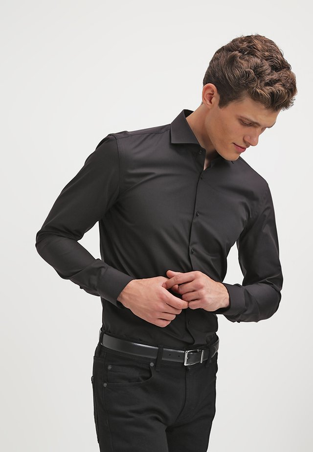 JASON SLIM FIT - Zakelijk overhemd - black