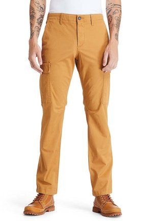 CORE TWILL  - Cargo trousers - wheat boot