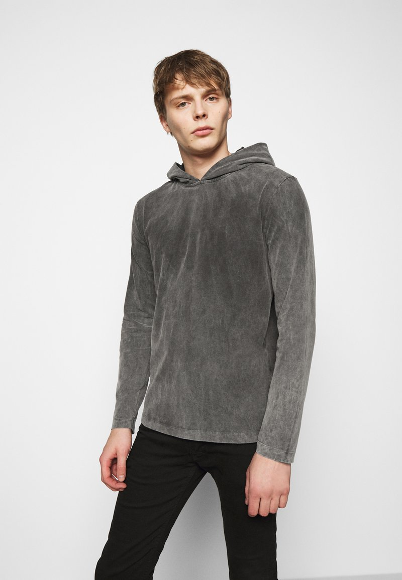 DRYKORN - MILIAN - Long sleeved top - dark grey