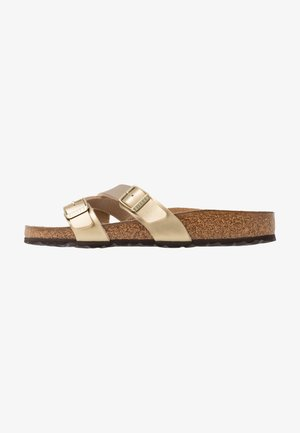 YAO - Slippers - gold