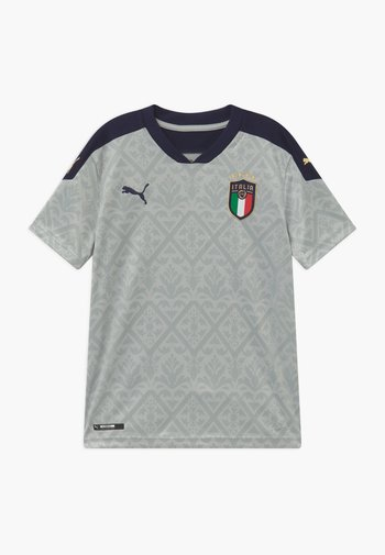 ITALIEN FIGC REPLICA - Pelipaita - gray violet/peacoat